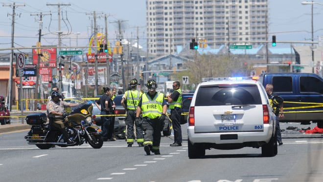 Ocean City Police are investigating a fatal crash on Coastal Highway and 28th Street on Thursday, May 19.