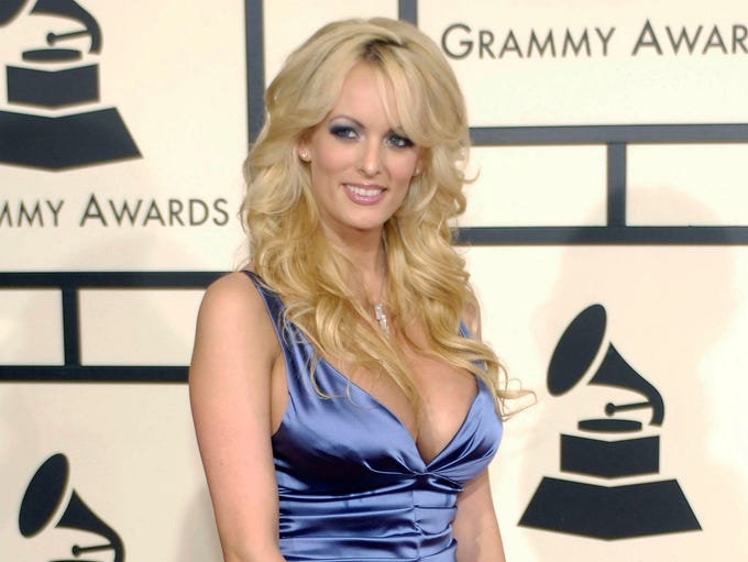 Stormy Daniels -- The former porn star reportedly had