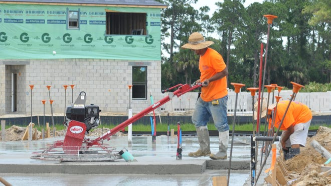 One of the largest home construction developments underway in Brevard County is Sawgrass Lakes in West Melbourne, which has been approved for 933 homes. Of those, 137 are either completed or under construction.
