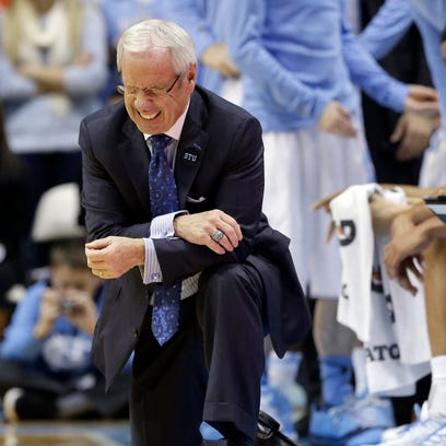 Coach Roy Williams' winning percentage the past three seasons (68-30, .693) is below his mark of .790 (257-68) his first nine years at North Carolina.