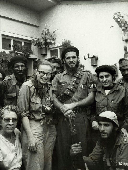 Dickey Chapelle in Cuba
