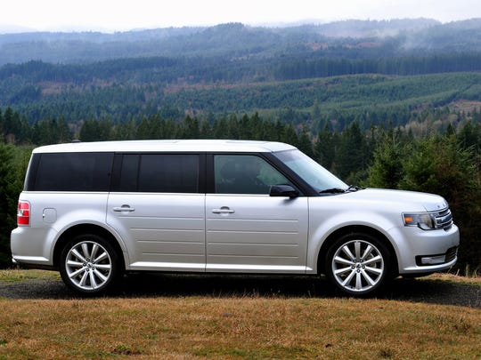 The 2013 Ford Flex.