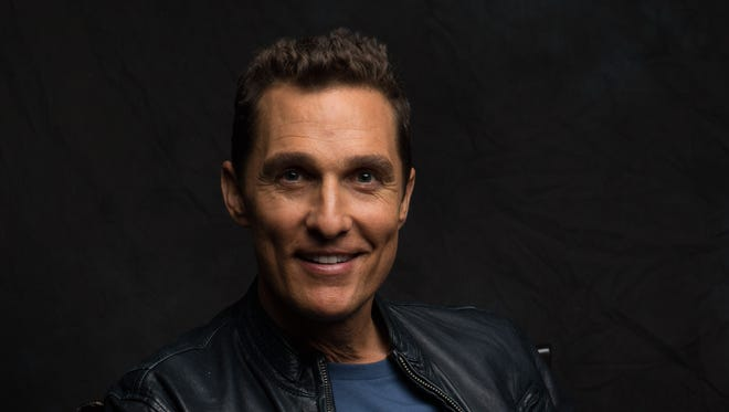 Matthew McConaughey plays an HIV-positive patient Ron Woodroof in the new film 'Dallas Buyers Club.'