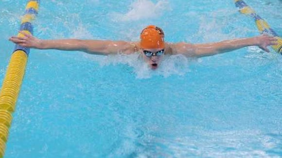 Asheville's Nathan Hart is a senior on the University of Virginia swim team.