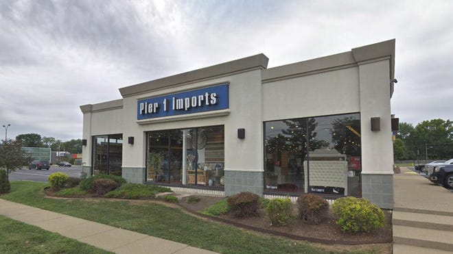 The Pier 1 Imports store in Harper Woods is shown. The retailer announced a plan to cut costs at the chain, which is under siege from newer online rivals.