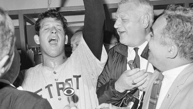 In 1968 Mickey Lolich, left, and teammates brought a title to a city that desperately needed a boost.