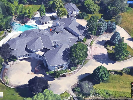Eminem is selling his home at 5760 Winkler Mill Rd,