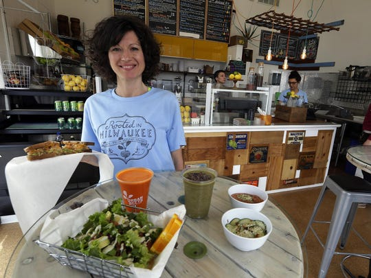 Dawn Balistreri, the owner of Urban Beets, plans to open a third cafe in Brown Deer in 2020.
