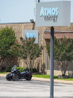 Atmos Energy offoce on Blue Flame road in Sherman.