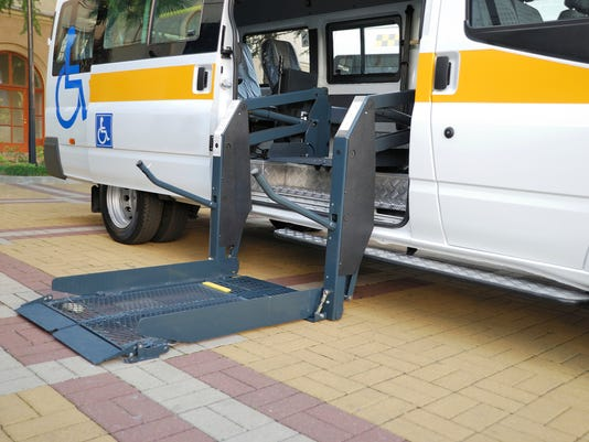 The lift for Wheelchair