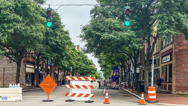 Corning's Market Street will reopen to vehicle traffic beginning Sept. 8.