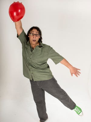Clown and physical comedian Angel Ocasio will perform at an end-of-summer party at the Stayton Library.