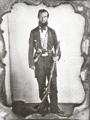 Winston Stephens, an officer in the 2nd Florida Cavalry Regiment. He fought in the Battle of Olustee and was killed leading 80 cavalry against a Union patrol on March 1, 1864.