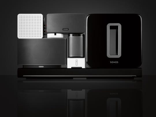Sonos' array of in-home connected music systems is