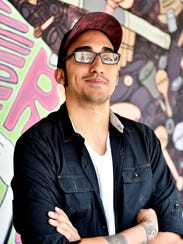 York-based recording artist Gabriel Rodriguez stands