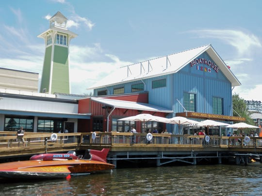 Downtown Disney's Boathouse restaurant is one of the new features as the area transitions to its new name, Disney Springs.