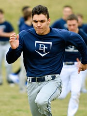 Dallastown's Bryan Holtzapple is one of three Division
