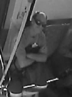 Police are seeking this man, who allegedly robbed a victim aboard Phoenix city bus.