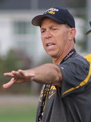 Bob Chiesa led North Farmington to five wins in his two years at the helm, including three last season when the Raiders finished with a .500 record (3-3) in the OAA Blue Division.