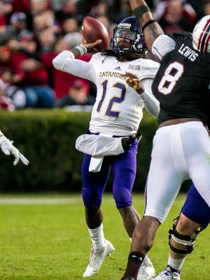 Behind Tyrie Adams, WCU is 4-1 in the Southern Conference and tied for first place.
