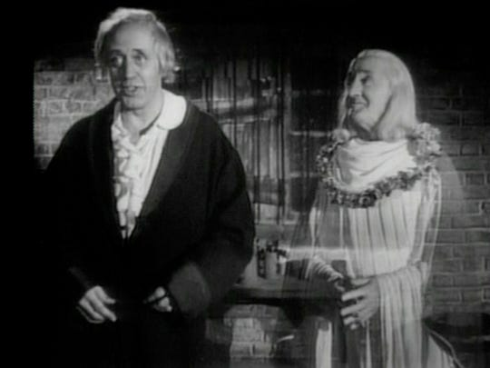 alastair sim in a christmas carol - Black And White Christmas Movies