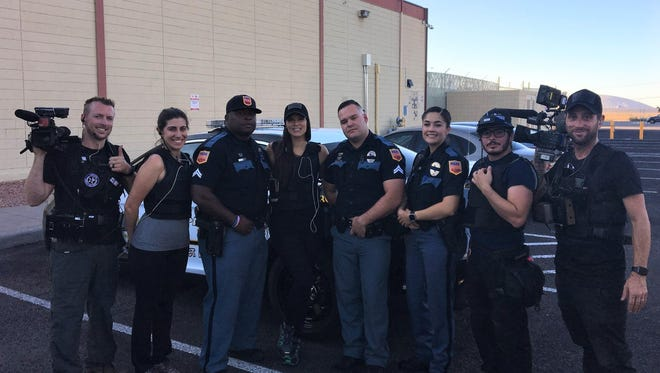 """A """"Live PD"""" TV show crew rode along and filmed members of the El Paso police Gang Unit starting in October 2017."""
