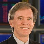 This undated file photo provided by the Pacific Investment Management Co., shows Bill Gross, a managing director of PIMCO. Gross is leaving the company to join Janus Capital. He will join Janus on Sept. 29, 2014, and manage the companyís recently launched unconstrained Bond Fund.