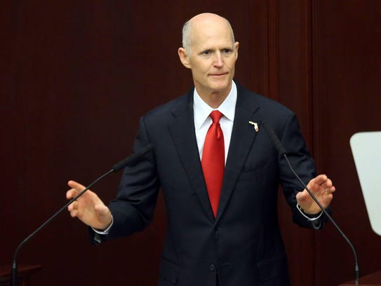 Gov. Rick Scott makes the state of the state address