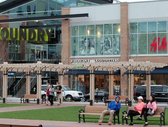 Liberty Center will create a designated outdoor refreshment area at the multi-use complex after getting the green light from Liberty Township trustees.