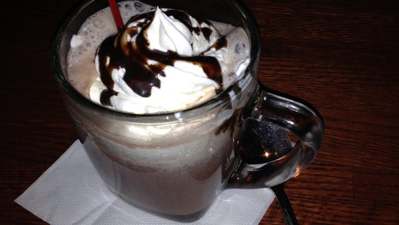 Fairport Village Inn hot chocolate 1