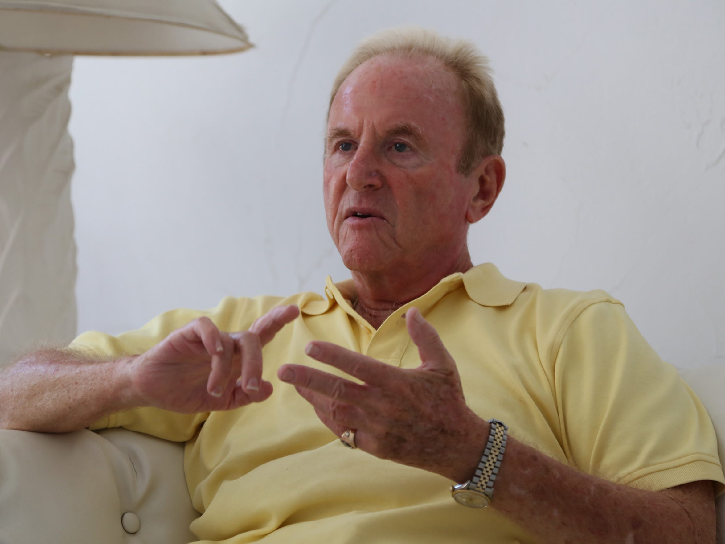Entertainment agent Larry Spellman talks about his