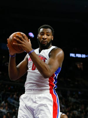 Pistons center Andre Drummond