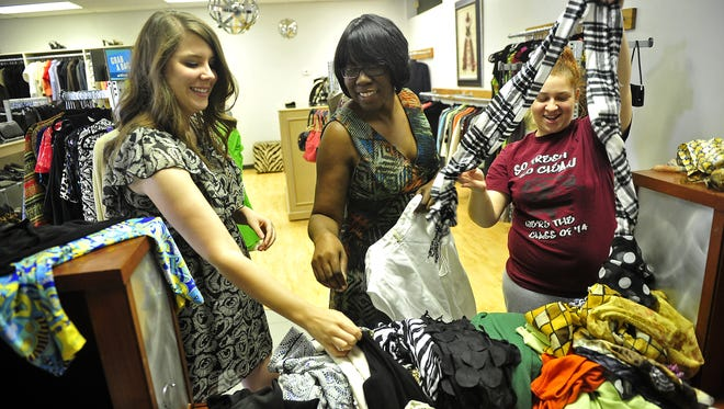 Downtown Nashville's Women Helping Women clothing drive will go to the 2616 boutique, which supports the YWCA.