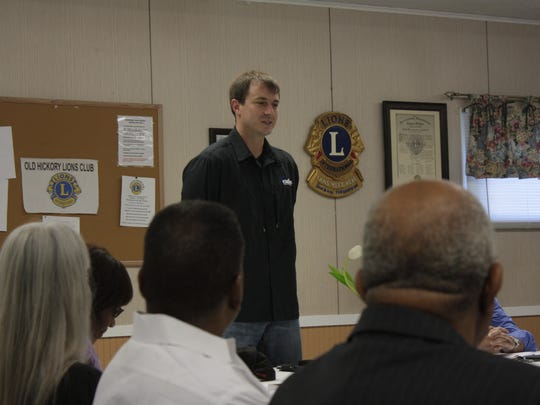 A guest at the Toastmasters meeting gives an impromptu speech about what his life would be called if it was a book.
