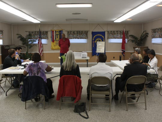 Daybreak Toastmasters members refine communication and leadership skills by giving speeches, both prepared and impromptu.