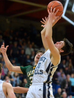 Great Falls High's Blake Thelen scored 16 points to lead the Bison to a win over Butte Saturday.