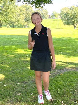 Coldwater's Taylor Musselman finished in fourth place at the Pre-Regional held in Wayland Friday.