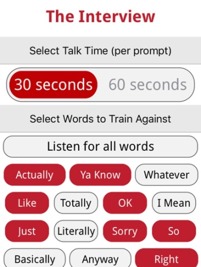 Two new iOS apps aim to replace an expensive in-person speech coach