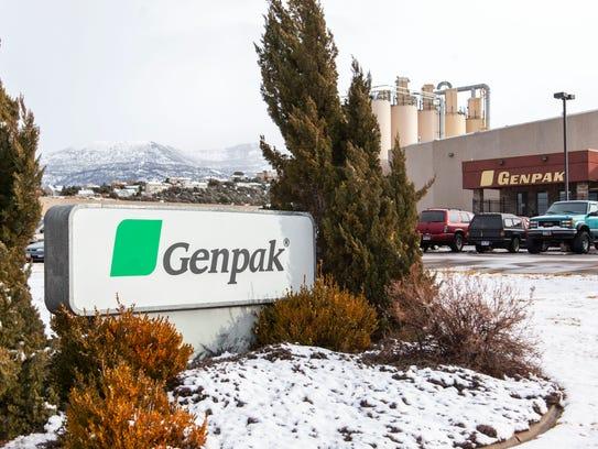 Genpak at 2791 W. Highway 56 in Cedar City.