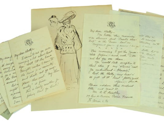 Love letters from Zane Grey at auction