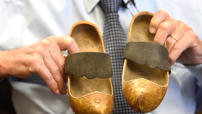 90-year-old Nashvillian, Morris Dennis, who at 18 drove one of the boats that delivered soldiers to the beaches of Normandy in WWII still has a pair of wooden shoes given to him as a gift from a French girl, starved out by Germans, who appreciated the Nashvillian giving her some food