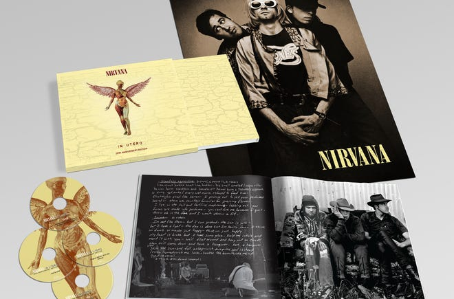 Here's a photo of the 'Super Deluxe Box Set' of Nirvana's 'In Utero.'