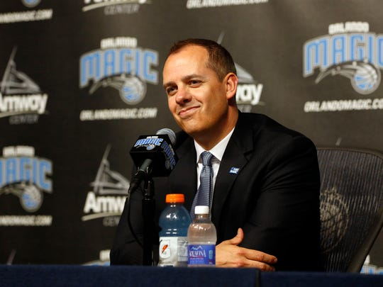 After a successful run with the Pacers, Frank Vogel hopes to help turn Orlando's fortunes around.