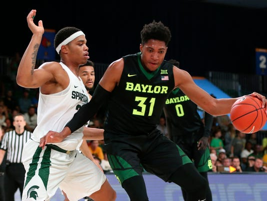 NCAA Basketball: Battle 4 Atlantis-Baylor vs Michigan State
