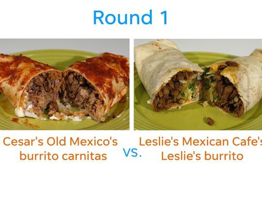 Cesar's vs. Leslie's