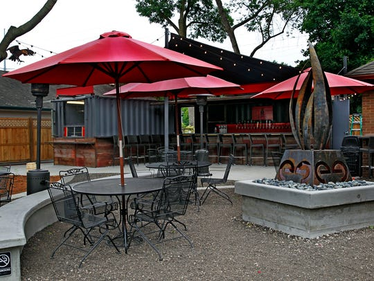 In Thiensville, the Cheel restaurant's new beer garden,