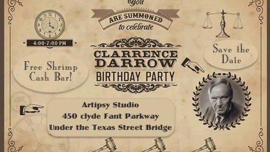 Clarence Darrow birthday
