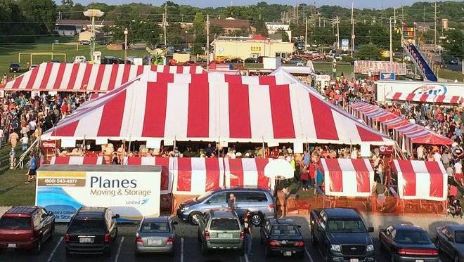 Sacred Heart Church is hosting its annual summer festival Friday through Sunday on church grounds at the corner of Nilles and River roads.