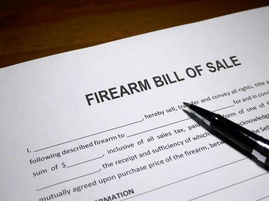 Firearm Bill of Sale