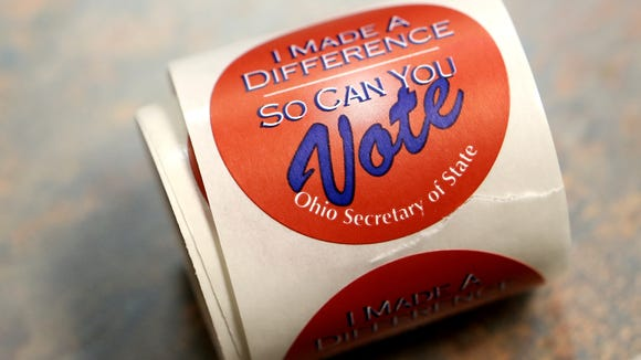 Ohio Democrats appealed a lawsuit regarding possible voter intimidation to the U.S. Supreme Court.